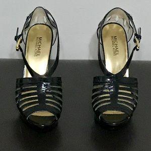 Michael Kors strappy heel, size 8